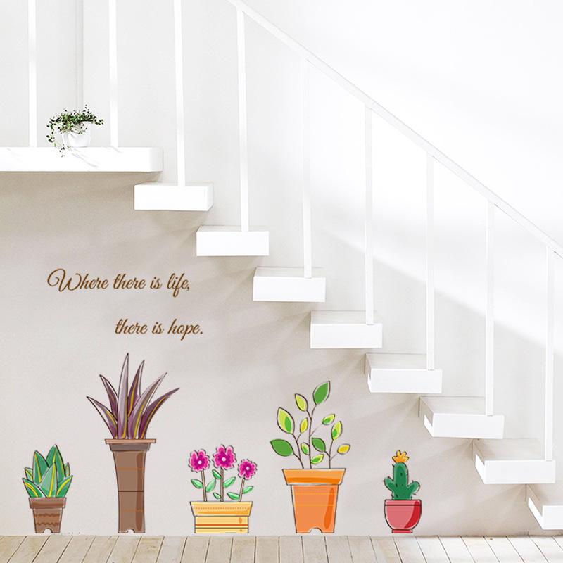 Life is Hope Greenery Wall Decal