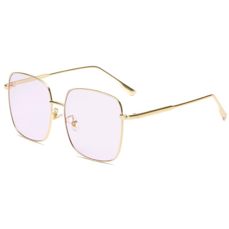 All Metal Oversized Sunglasses