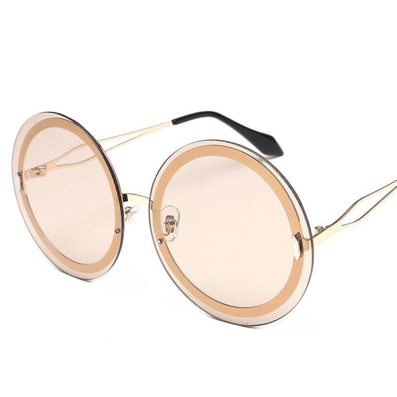 Bubbly Round Sunglasses