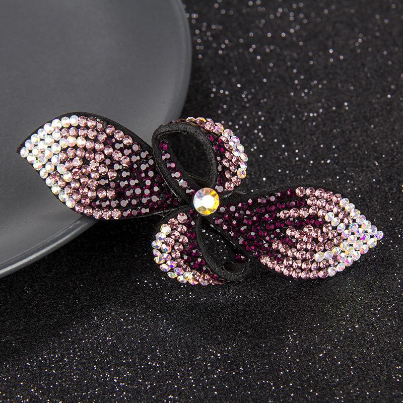 Rhinestone Hair Ornament Brooch