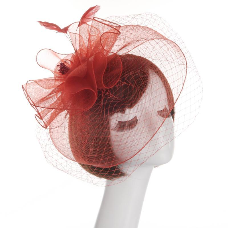 Women's Western Style Bridal Hat
