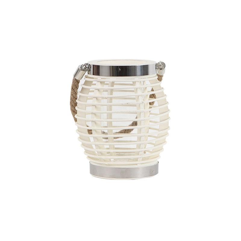 Rattan Candle Lantern